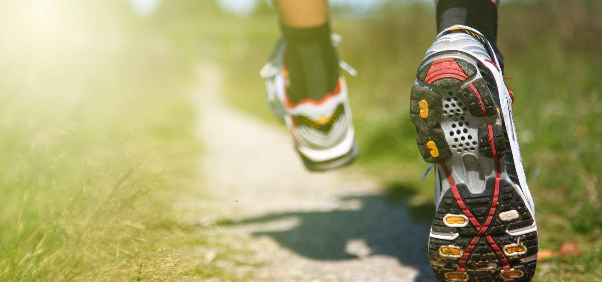 Man Running Header Springfield Endurance Training in Springfield, MO