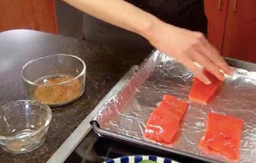 Sweet Spicy Salmon